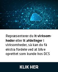Bliv oprettet som kunde hos DCS