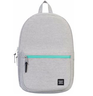 Herschel Harrison Light Grey Crosshatch/Lucite Green Zip