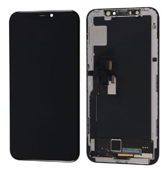 iPhone XR LCD Assembly Black - Kompatibel
