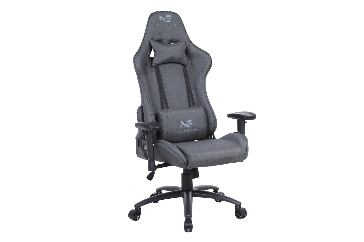 Nordic Gaming Racer Chair Fabric Black