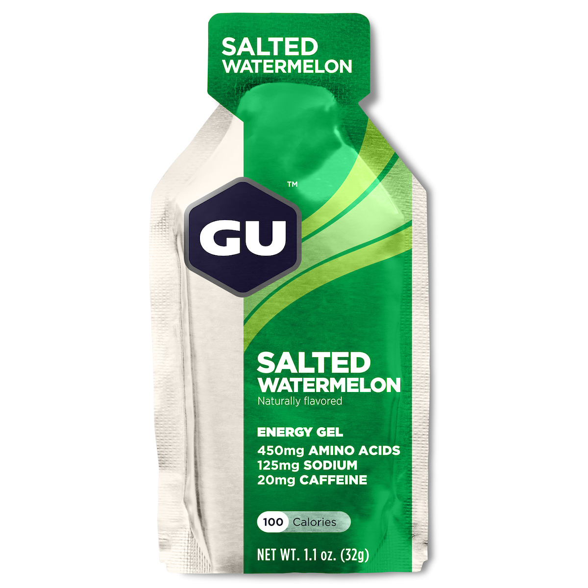 NPEU Salted Watermelon, GU Gel, 24 Pkt Ctn