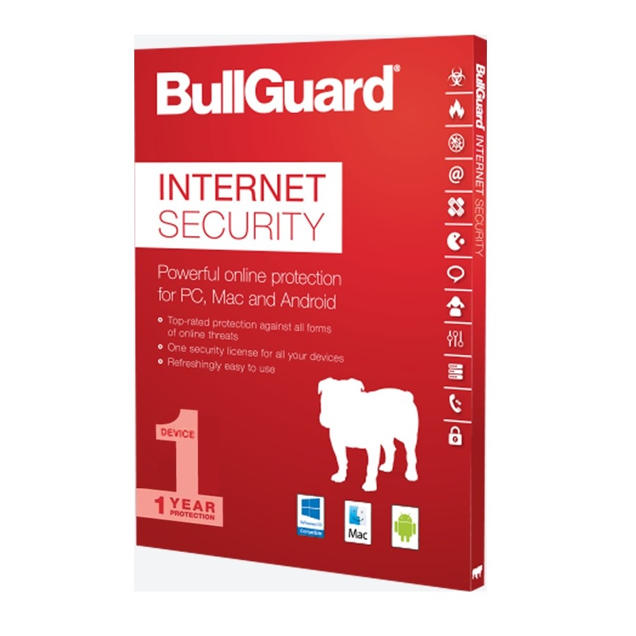 BullGuard Internet Security 2019 1Y/1 PC ESD