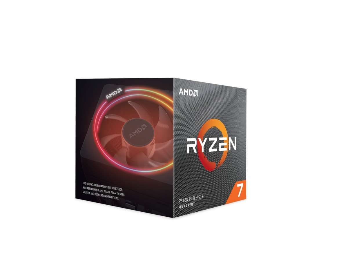 AMD CPU Ryzen 7 3800X 3.9GHz 8 kerner  AM4