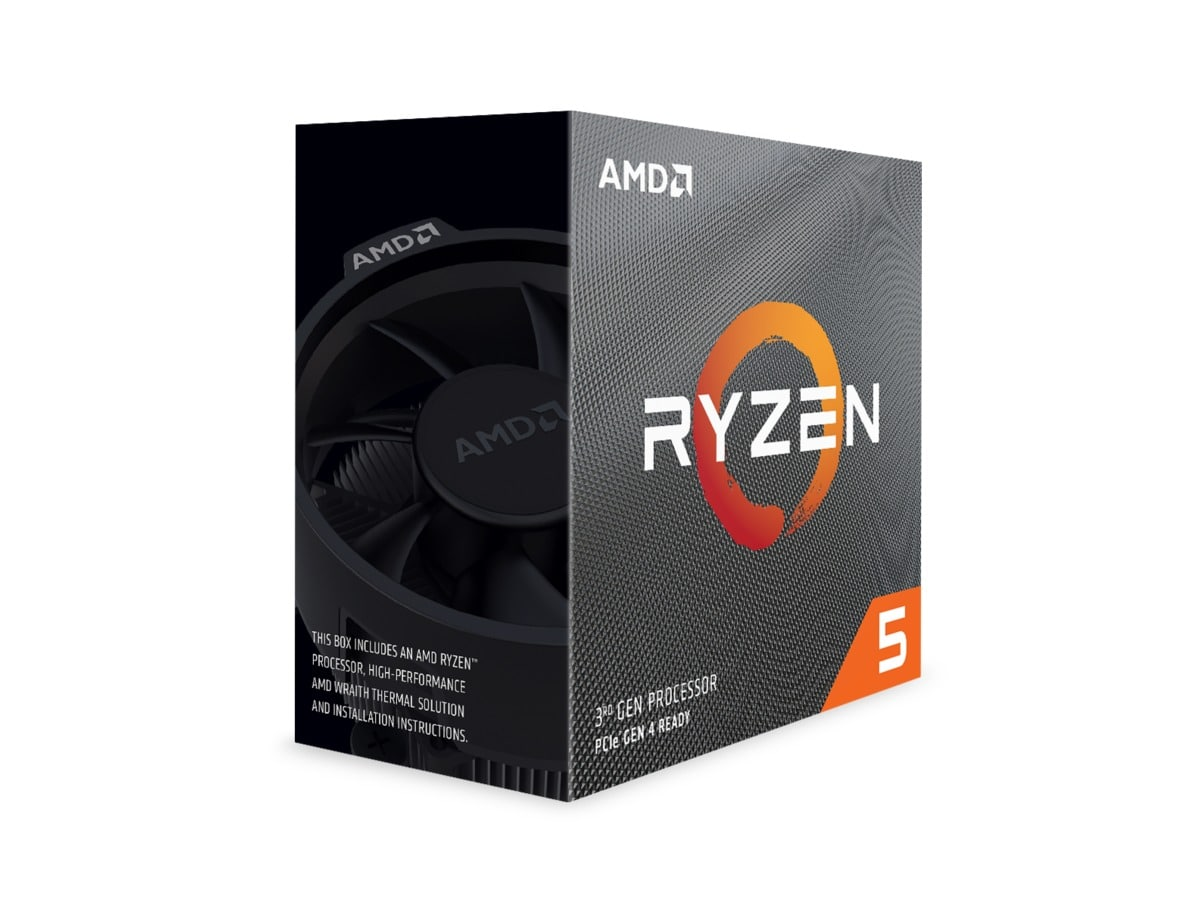 AMD CPU Ryzen 5 3600 3.6GHz 6 kerner  AM4