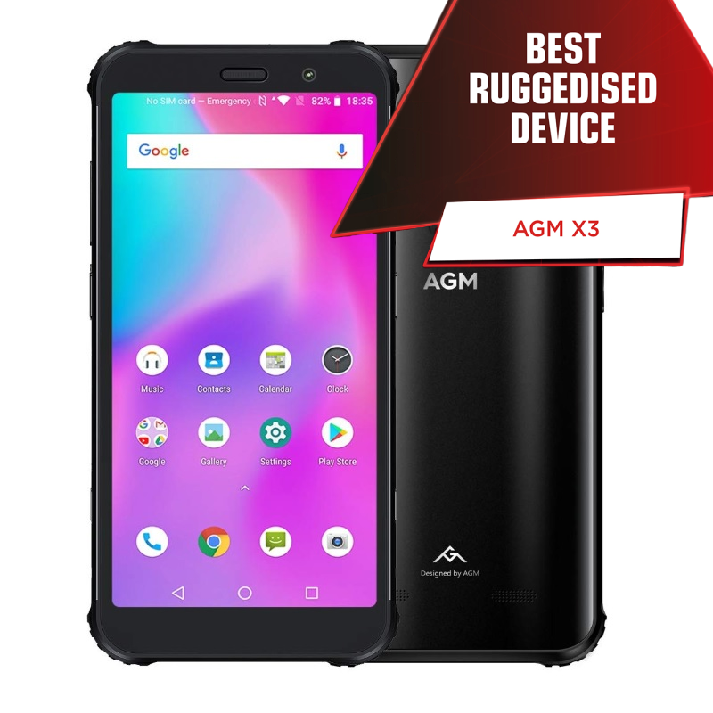 AGM X3 5.99' 32GB 4G Sort