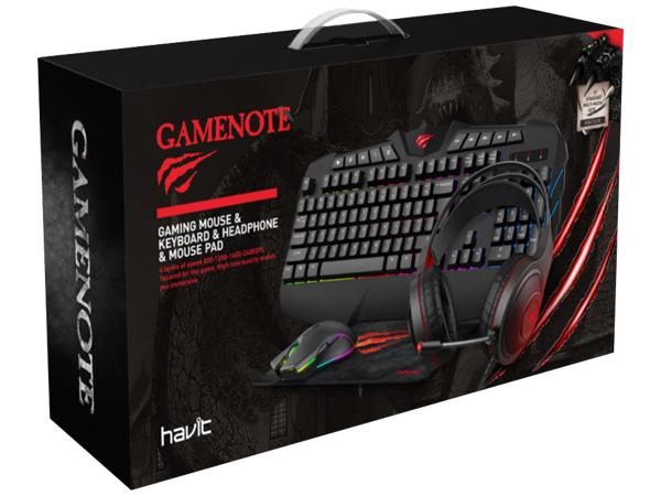 Havit Gaming Bundle Mouse, Keyboard, Headset, mo