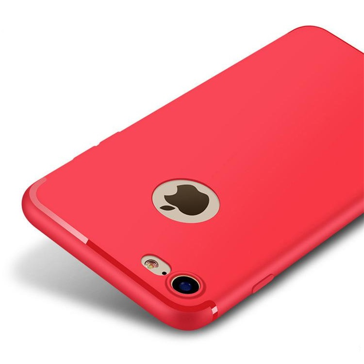iPhone 7/8 Matte Soft Cover Red