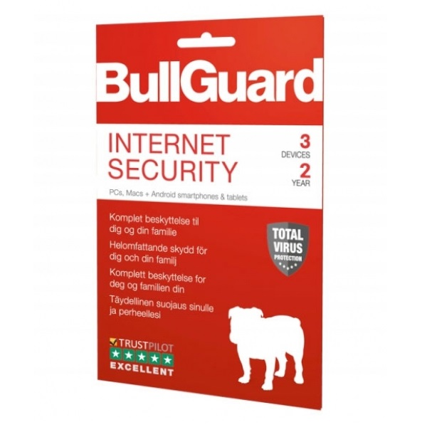 BullGuard Internet Security 2019 2Y/3 Device ESD