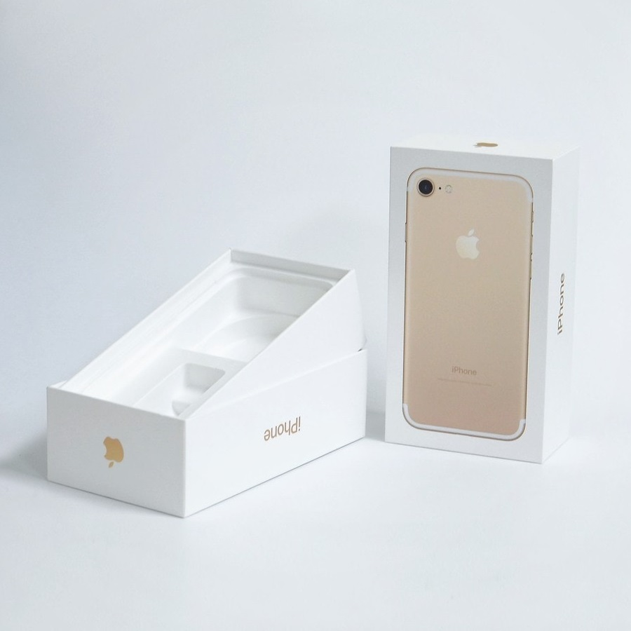 iPhone 7 Box 128GB Gold