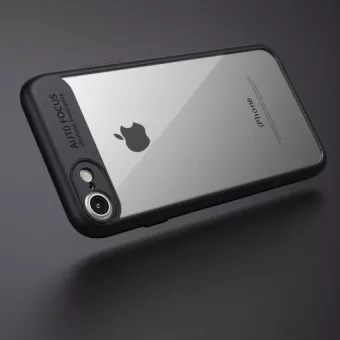iPhone 8 Shell cover Black and Clear