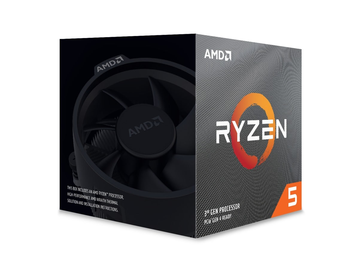 AMD CPU Ryzen 5 3600X 3.8GHz 6 kerner  AM4